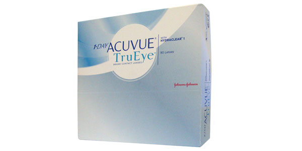 JOHNSON & JOHNSON 1 DAY ACUVUE TRUEYE 90
