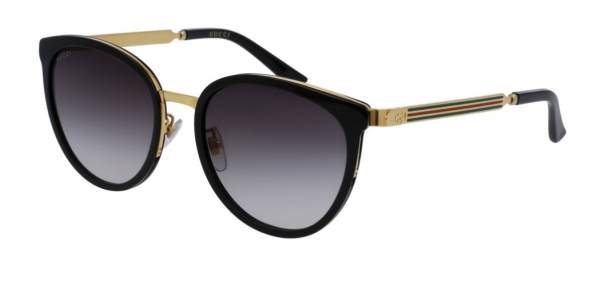 GUCCI GG0077SK BLACK-GOLD-GREY