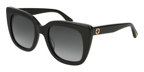 GUCCI GG0163S BLACK / GREY
