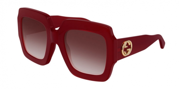 GUCCI GG0178S RED-RED-RED