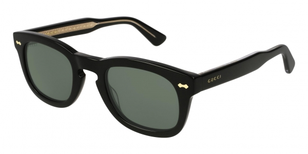 GUCCI GG0182S BLACK / GREEN