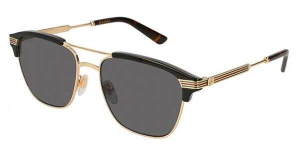 GUCCI GG0241S SHINY ENDURA GOLD/SHINY BLACK