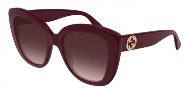 GUCCI GG0327S BURGUNDY-BURGUNDY-RED
