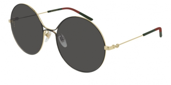 GUCCI GG0395S SHINY ENDURA GOLD/SHINY BLACK