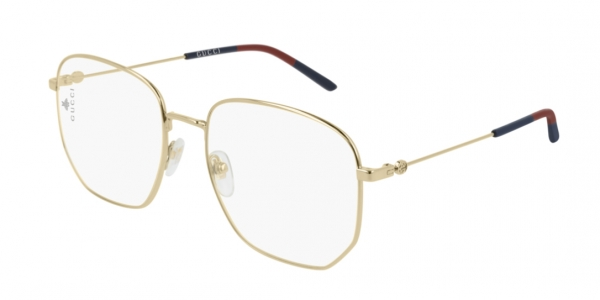 GUCCI GG0396O SHINY LIGHT GOLD
