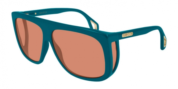 GUCCI GG0467S BLUE-BLUE-BROWN