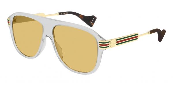 GUCCI GG0587S GREY-GOLD-BROWN