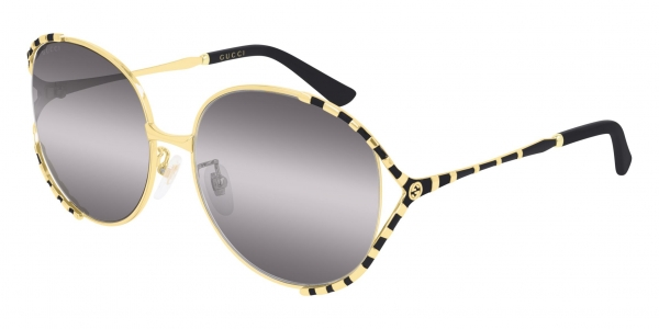 GUCCI GG0595S GOLD-BLACK-GREY