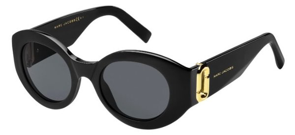 MARC JACOBS MARC 180/S      BLACK