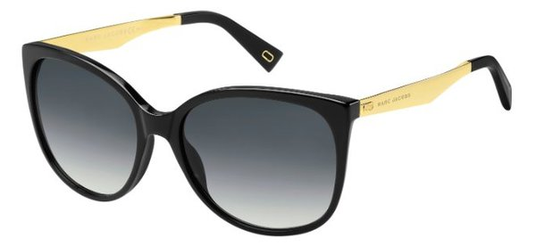 MARC JACOBS MARC 203/S      BLACK
