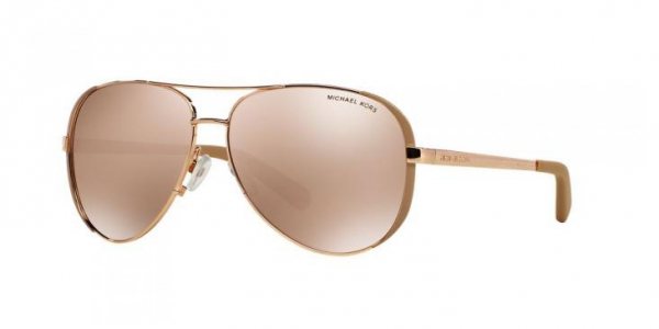 MICHAEL KORS MK5004 CHELSEA ROSE GOLD/TAUPE rose gold flash