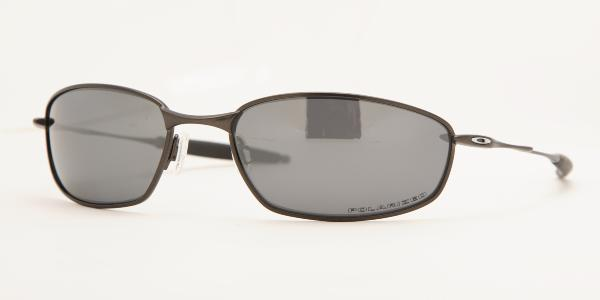 7f7aed7d50f OAKLEY OO4020 WHISKER Pewter BLACK IRIDIUM POLARIZED