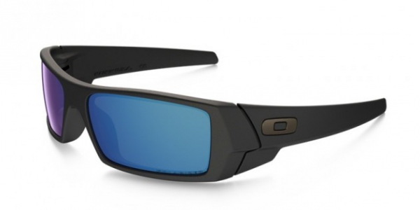 OAKLEY OO9014 GASCAN MATTE BLACK ICE IRIDIUM POLARIZED