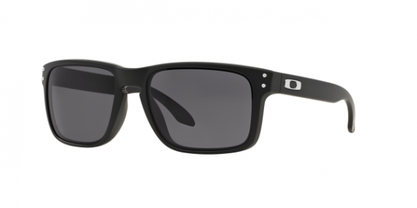 OAKLEY OO9102 HOLBROOK MATTE BLACK WARM GREY