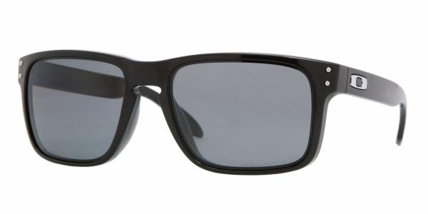 Oakley Holbrook Polished Black Grey Polarized