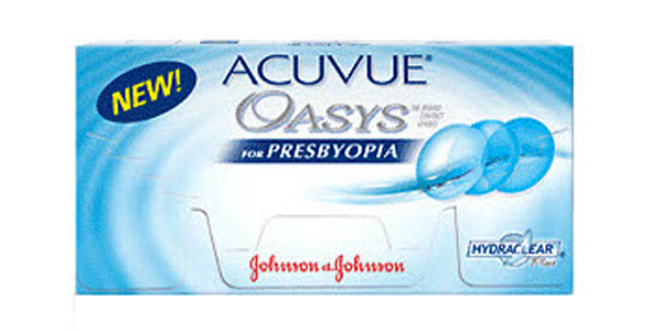 JOHNSON & JOHNSON ACUVUE OASYS FOR PRESBYOPIA C 6