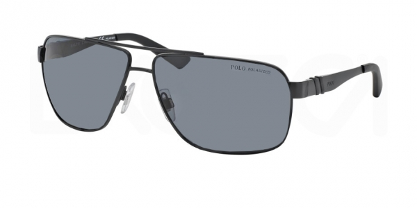 POLO RALPH LAUREN PH3088 MATTE BLACK POLAR GREY