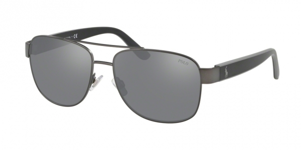 POLO RALPH LAUREN PH3122 MATTE DARK GUNMETAL