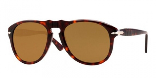 PERSOL PO0649 HAVANA CRYSTAL BROWN POLARIZED