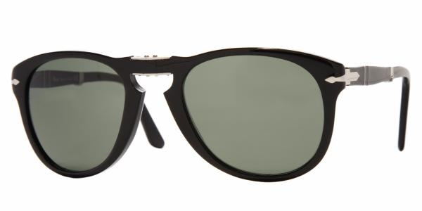 Persol PO0714 95/31 54 black / crystal green HsTsa
