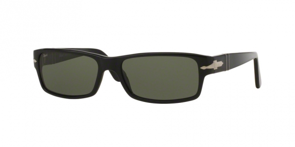 PERSOL PO2747S BLACK CRYSTAL GREEN POLARIZED