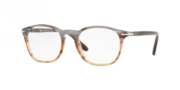 PERSOL PO3007V STRIPED GREY/BROWN GRADIENT
