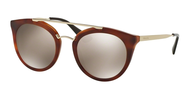PRADA PR 23SS CINEMA STRIPED BROWN