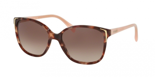 PRADA PR 01OS SPOTTED BROWN PINK