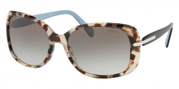 PRADA PR 08OS SPOTTED BROWN