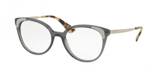 PRADA PR 12UV TRANSPARENT GREY