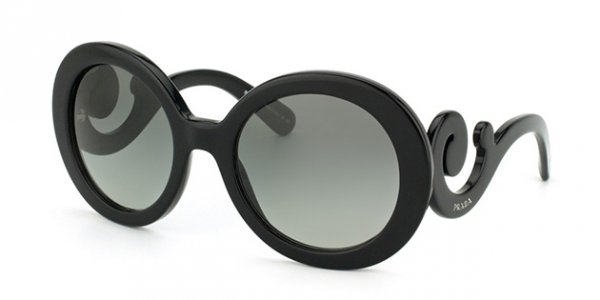 PRADA PR 27NS MINIMAL BAROQUE BLACK