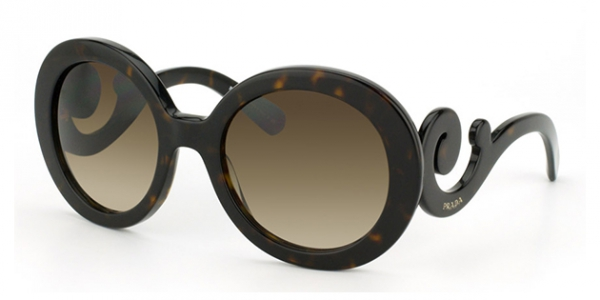 PRADA PR 27NS MINIMAL BAROQUE HAVANA BROWN