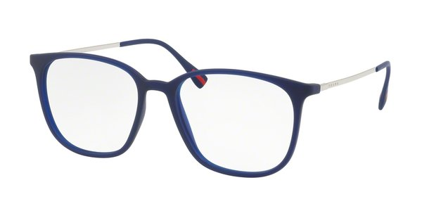 PRADA LINEA ROSSA PS 03IV TRANSPARENT BLUE RUBBER