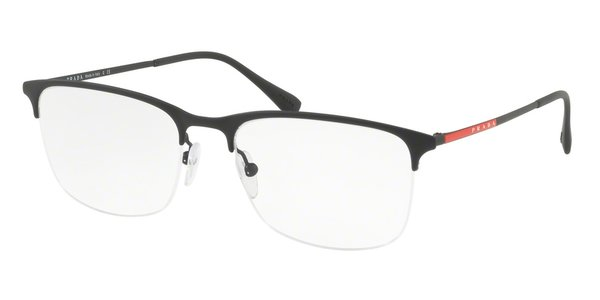PRADA LINEA ROSSA PS 54IV BLACK RUBBER