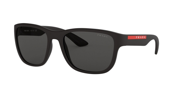 PRADA LINEA ROSSA PS 01US BLACK RUBBER