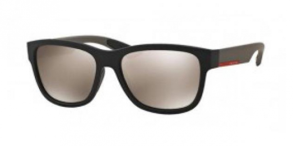 PRADA LINEA ROSSA PS 03QS BLACK RUBBER