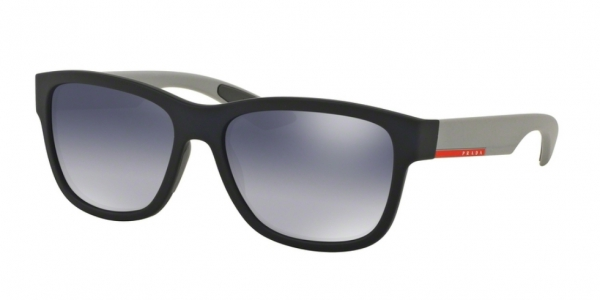 PRADA LINEA ROSSA PS 03QS BLUE RUBBER