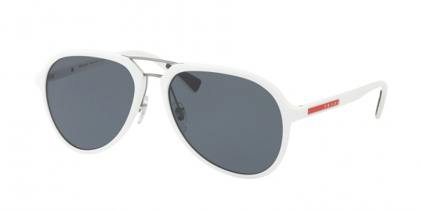 c08010f5b6 PRADA LINEA ROSSA PS 05RS TWK5Z1 WHITE RUBBER