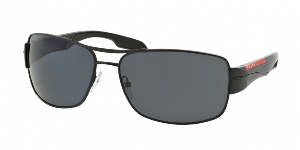 PRADA LINEA ROSSA PS 53NS DEMI-SHINY BLACK POLAR GRAY