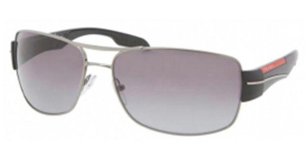 PRADA LINEA ROSSA PS 53NS GUNMETAL GRAY GRADIENT
