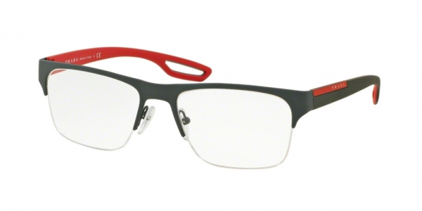 38e3ae9437510 Prada Linea Rossa Prescription Glasses PS 55FV UFI1O1