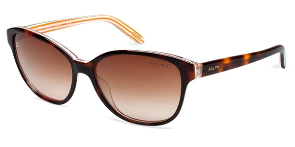 RALPH RA5128 AMBER/ORANGE STRIPES BROWN GRADIENT