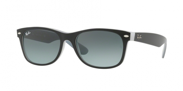 be21cb0fda RAY-BAN New Wayfarer RB2132-630971 MATTE BLACK ON OPAL ICE