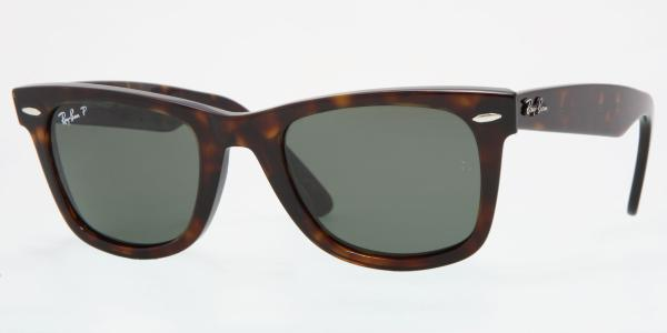 f386ca6d3d RAY-BAN Original Wayfarer RB2140 902 58 TORTOISE CRYSTAL GREEN POLARIZED