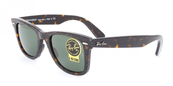 RAY-BAN RB2140 ORIGINAL WAYFARER EFFECT AGED HAVANA EFFECT AGED