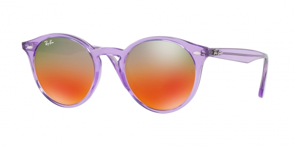 RAY BAN RAY-BAN Sonnenbrille » RB2180«, lila, 6280A8 - lila/ silber