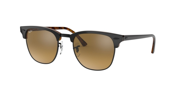 RAY-BAN RB3016 CLUBMASTER TOP GREY ON HAVANA