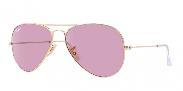 1e05b9da0 RAY-BAN Aviator Large Metal RB3025 001/15 ARISTA CRISTAL POLAR PINK