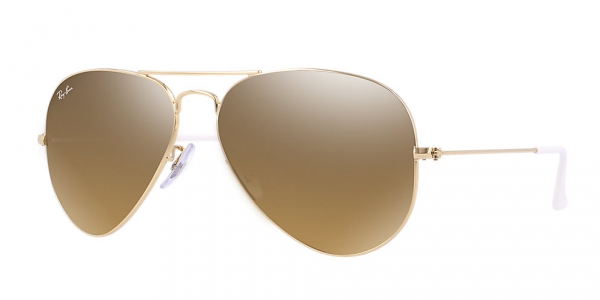 Ray-Ban Aviator Large Metal RB3025 001/3K 55/14 Sunglasses