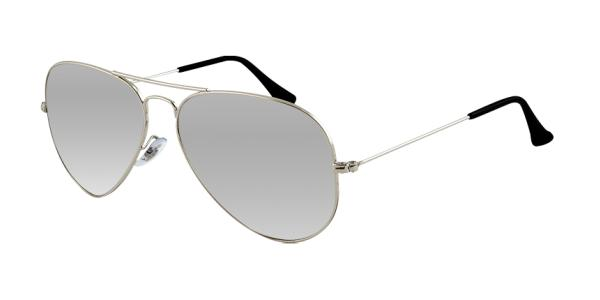 6e8ea64458f RAY-BAN Aviator Large Metal RB3025 003 40 SILVER GRAY MIRROR